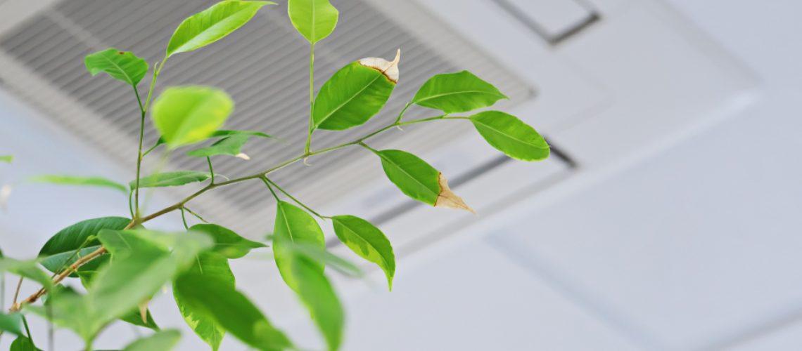 air conditioning ceiling unit